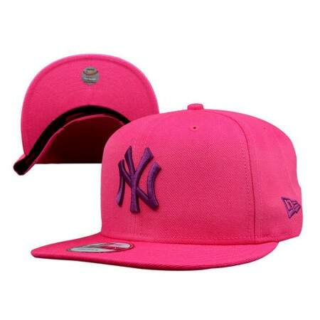 Boné New Era 9FIFTY Snapback New York Yankees Pink/Purple