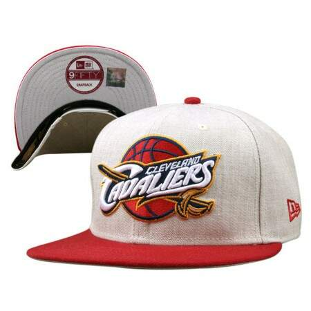Boné New Era 9FIFTY Snapback Cleveland Cavaliers Gray/Red