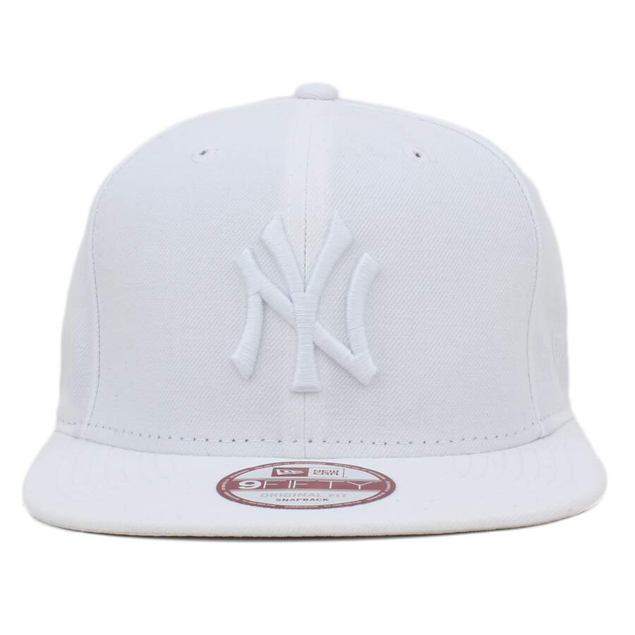 c1bdf7c8cd Boné New Era 9FIFTY Snapback New York Yankees Branco