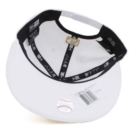 Boné New Era 9FIFTY Snapback New York Yankees White/Gold