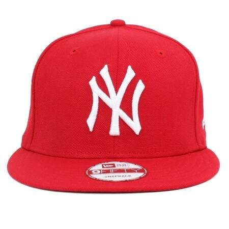 Boné New Era 9FIFTY Snapback New York Yankees Vermelho