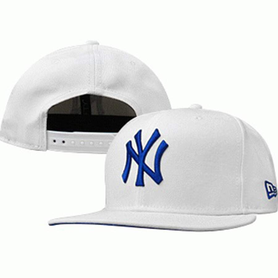 Boné New Era 9FIFTY Snapback New York Yankees Branco Azul 2847dffae31