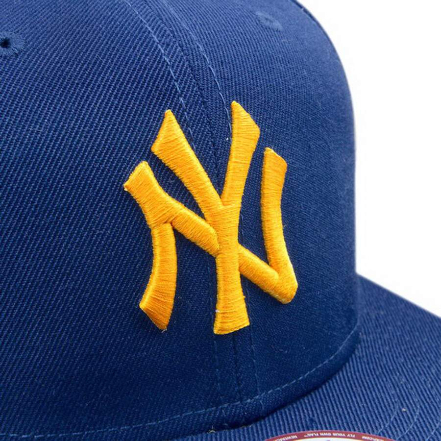 Boné New Era 9FIFTY Snapback New York Yankees Azul/Amarelo