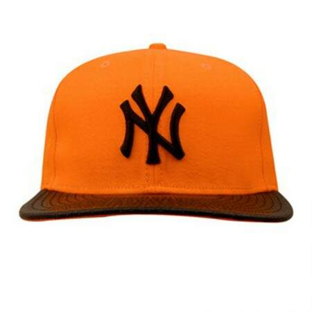 Boné New Era 9FIFTY Snapback New York Yankees Laranja/Preto