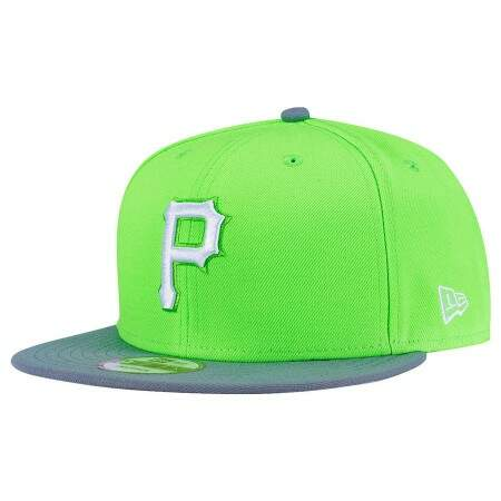 Boné New Era 9FIFTY Snapback Pittsburgh Pirates Verde Cana
