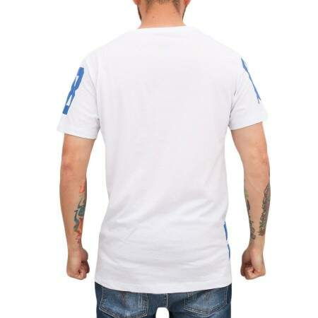 Camiseta 18Kilates New York Branca/Azul
