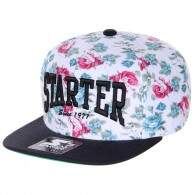 Boné Starter Black Label Snapback Core Full 1 Floral
