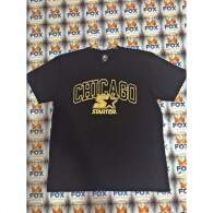 Camiseta Starter Black Label Chicago Preta/Dourada