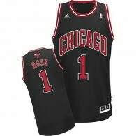 Regata Adidas NBA Chicago Bulls 1 Rose Preta