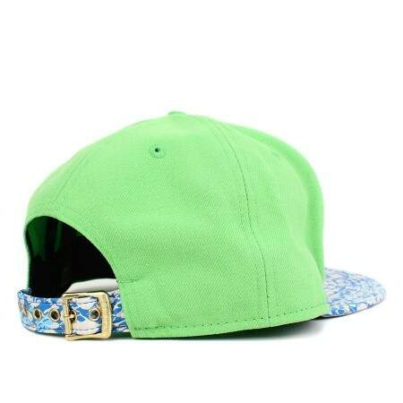 Boné New Era 9FIFTY Strapback New York Yankees Verde Cana Aba Printed