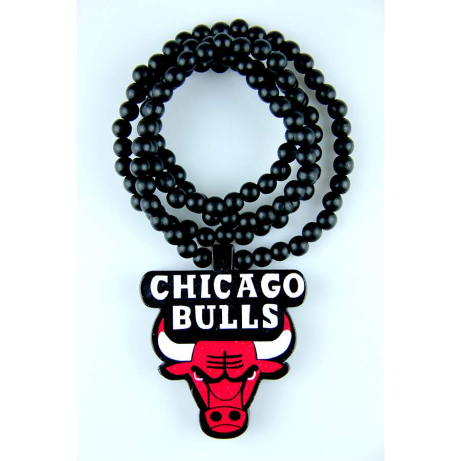 Colar GoodWood Necklace Chicago Bulls Black