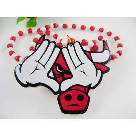 Colar GoodWood Necklace DOPE Red/White