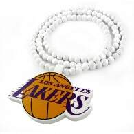 Colar GoodWood Necklace Los Angeles Lakers White