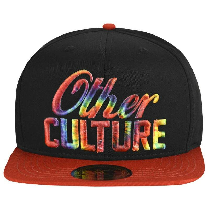 Boné Other Culture Snapback Rainbow Preto