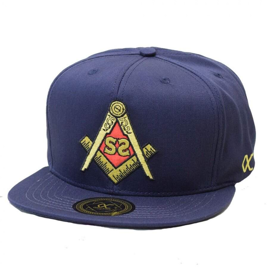 Boné Other Culture Snapback Secret Society Azul Marinho