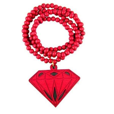 Colar GoodWood Necklace Diamond Red
