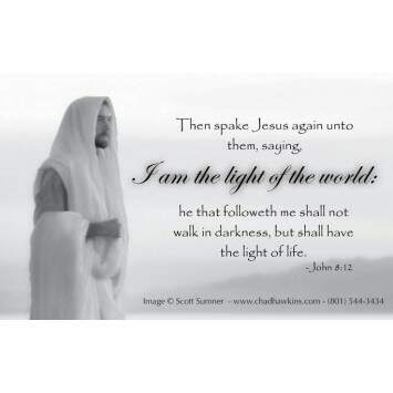 PORTA RECOMENDAÇÃO I AM THE LIGHT OF THE WORLD