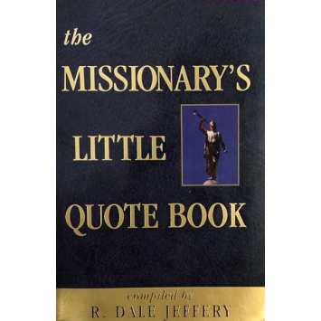 Livro The Missionarys Little Quote Book
