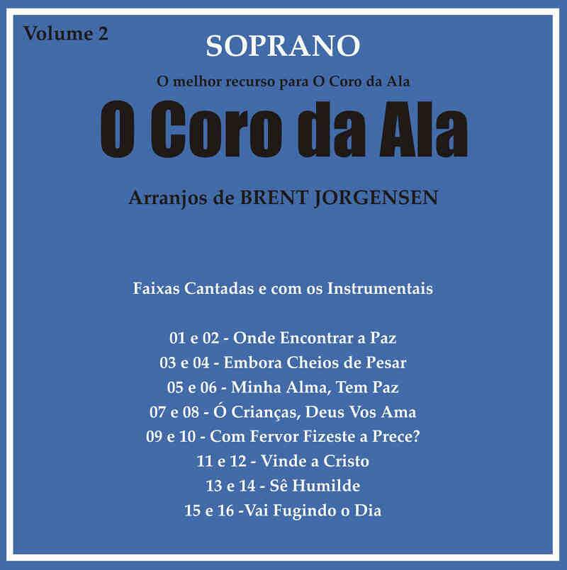 CD CORO DA ALA VOL 2 SOPRANO