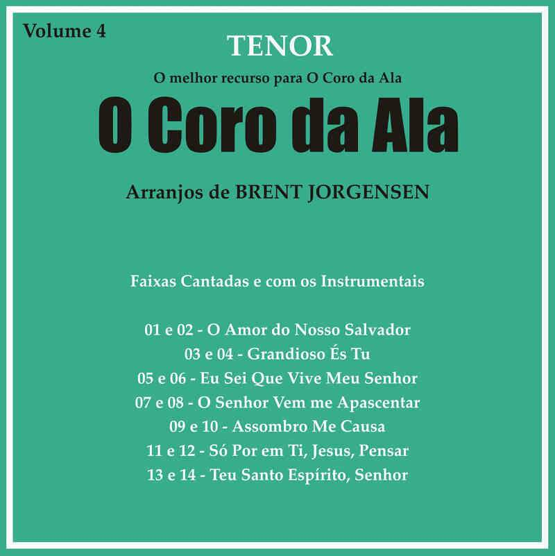 CD CORO DA ALA VOL 4 TENOR