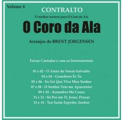CD CORO DA ALA VOL 4 CONTRALTO