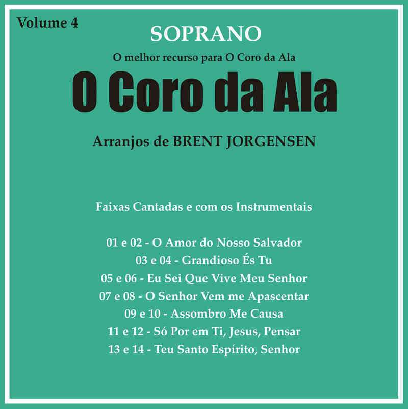 CD CORO DA ALA VOL 4 SOPRANO
