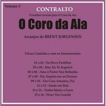 CD CORO DA ALA VOL 3 CONTRALTO