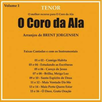 CD CORO DA ALA VOL 1 TENOR