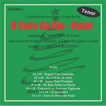 CD CORO DA ALA NATAL VOL. 1 TENOR