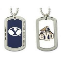 BYU Cougars Dog Tag