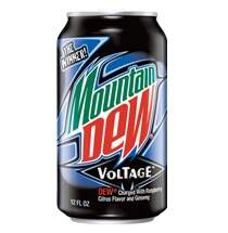 Refrigerante Mountain Dew Voltage