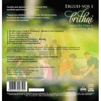 CD Mutual 2012 - Erguei-vos e Brilhai