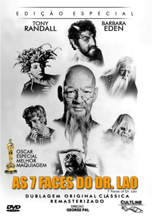 As 7 Faces do Dr Lao ( RARIDADE )  ORIGINAL LACRADO
