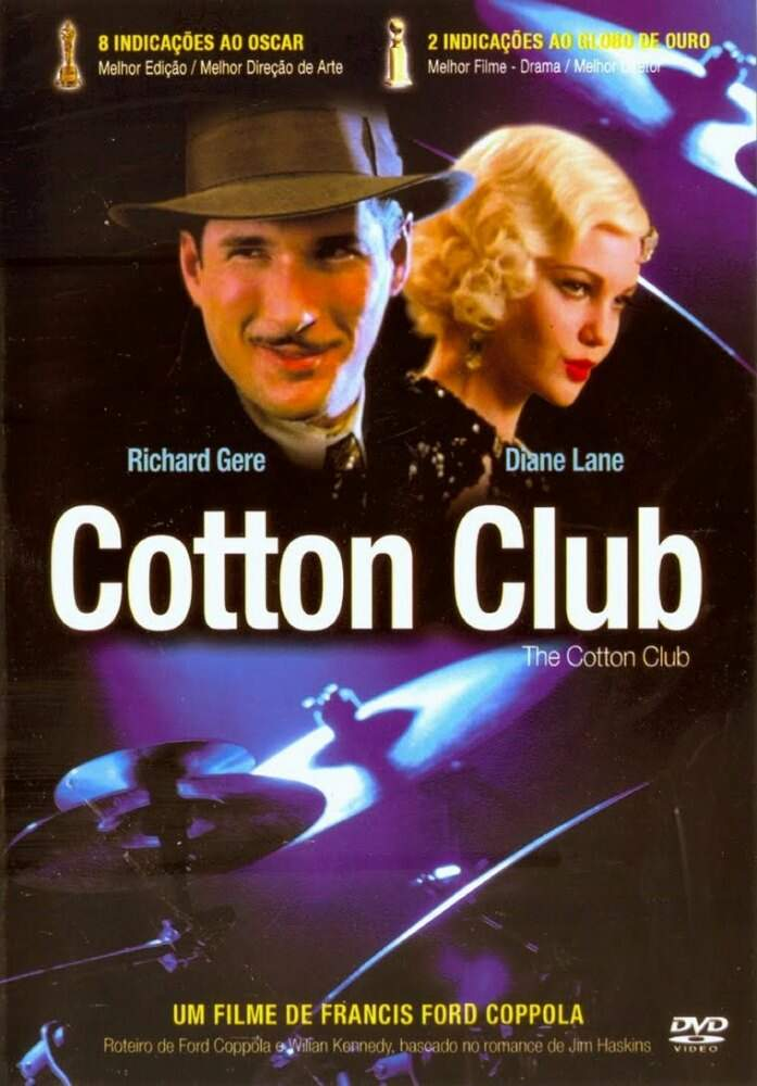 Cotton Club - RICHARD GERE - SEMI-NOVO REVISADO