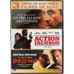 Cinema em Dose Tripla - Na Trilha dos Assassinos + Action Jackson + Ultimo Boy Scout -DUPLO