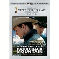 O Segredo de Brokeback Mountain - DUPLO - ORIGINAL - LACRADO