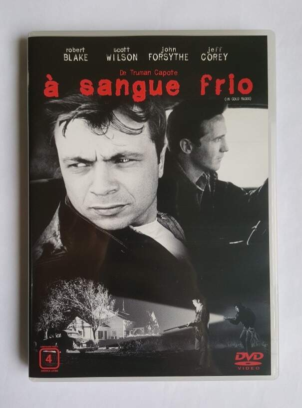 A Sangue Frio (1967) - ORIGINAL SEMI-NOVO