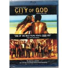 City of God - (BLU RAY) Cidade de Deus - IMPORTADO ORIGINAL LACRADO