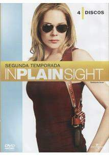 InPlainSight  Segunda Temporada - 4 Discos -Novo Lacrado