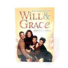 Will & Grace Sexta Temporada - SEMI-NOVO ORIGINAL