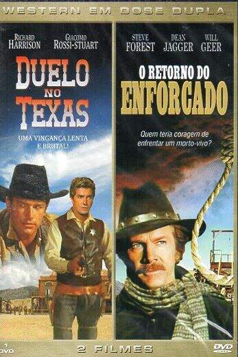 Western em Dose Dupla - Duelo No Texas - O Retorno do Enforcado ( DVD Simples )