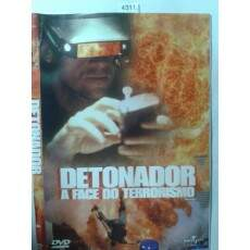 Detonador - A Face do Terrorismo - Semi Novo ORIGINAL