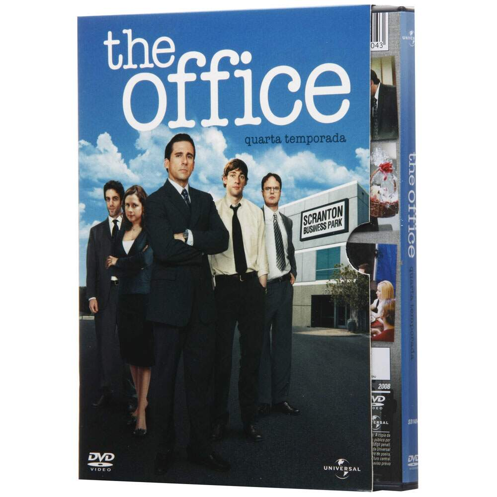 The Office - 4ª Temporada - SEMI-NOVOORIGINAL