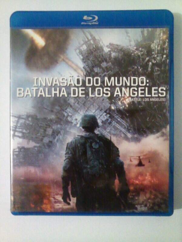 Invasao do Mundo: Batalha de Los Angeles  Blu-Ray - Semi-Novo