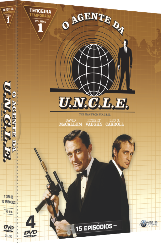 O Agente da UNCLE - Terceira Temporada - Vol. 1 -