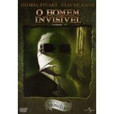 O Homem Invisível ( The Invisible Man ) 1933  DVD Duplo