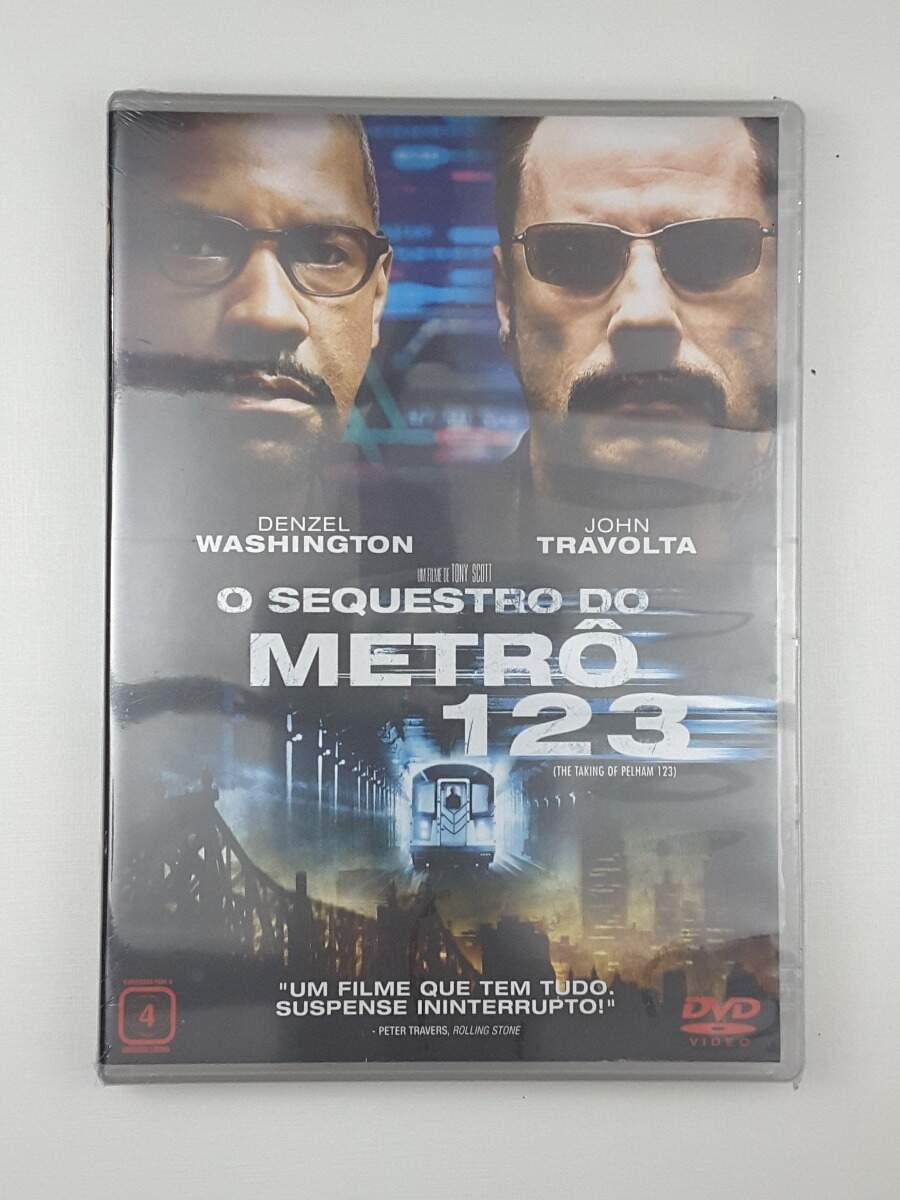 O Sequestro do Metrô 123 - NOVO LACRADO