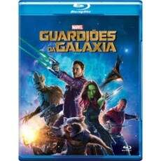 Guardiões da Galáxia - BLU-RAY -MARVEL SEMI-NOCO