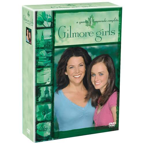 Gilmore Girls - 4ª Temporada Completa (6 DVDs)  SEMI-NOVO REVISADO