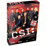 CSI - 3ª Temporada - Volume 1 ( 3 Discos )